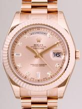 Rolex Masterpiece 218235 Yellow Band Watch