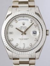 Rolex Masterpiece 218239 White Dial Watch