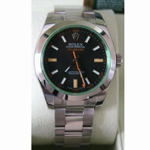 Rolex Milgauss 116400V Mens Watch