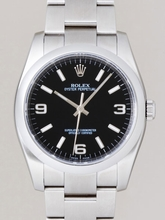 Rolex Oyster Date 116000 Black Dial Watch