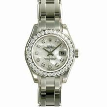Rolex Pearlmaster - Ladies 80299 Diamond Dial Watch