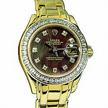 Rolex Pearlmaster - Ladies 80308 Automatic Watch