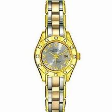 Rolex Pearlmaster - Ladies 80318 Tri Ladies Watch