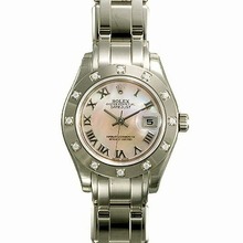 Rolex Pearlmaster - Ladies 80319 Automatic Watch