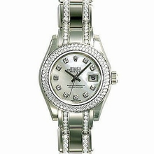 Rolex Pearlmaster - Ladies 80339 Automatic Watch