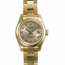 Rolex President Ladies 179165 Silver Dial Watch