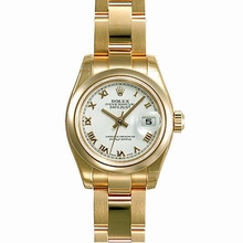 Rolex President Ladies 179165 White Dial Watch