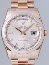 Rolex President Men's 118205 Automatic Watch