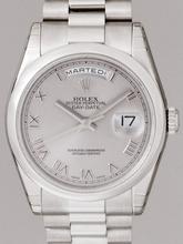 Rolex President Men's 118206 Platinum Band Watch