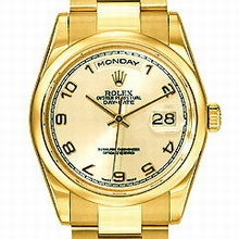 Rolex President Men's 118208 Mens Watch