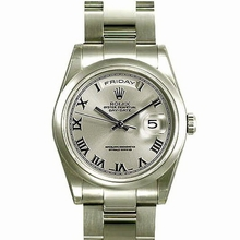 Rolex President Men's 118209 Round Shape Watch