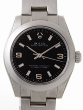 Rolex President Midsize 177200 White Band Watch