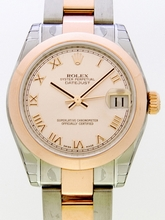 Rolex President Midsize 178241 Orange Dial Watch