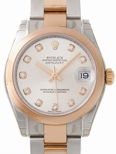 Rolex President Midsize 178241 White Dial Watch