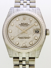Rolex President Midsize 178274 Grey Dial Watch