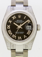 Rolex President Midsize 179160 Black Dial Watch
