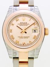 Rolex President Midsize 179161 Orange Dial Watch