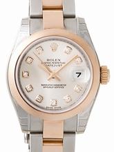 Rolex President Midsize 179161 White Dial Watch
