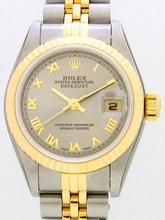 Rolex President Midsize 179171 Grey Dial Watch