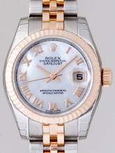 Rolex President Midsize 179171 Silver Dial Watch