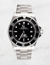 Rolex Sea Dweller 16600 Black Dial Watch