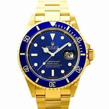Rolex Submariner 16618 Blue Dial Watch