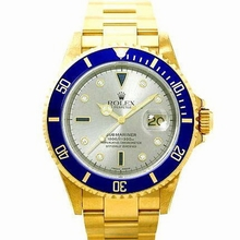 Rolex Submariner 16618 Diamond Dial Watch