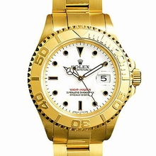 Rolex Yachtmaster 16628 Yellow Band Watch