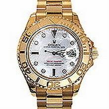 Rolex Yachtmaster 169628 Diamond Dial Watch