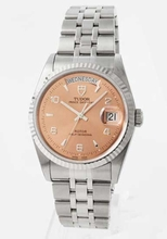 Tudor Glamour Date-Day Lady TD76214PKA5 Mens Watch