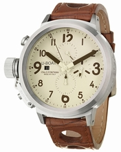 U-Boat Flightdeck 50-CAS-BE-BR-A Mens Watch