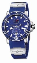 Ulysse Nardin GMT Perpetual 260-32-3A Mens Watch