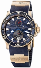 Ulysse Nardin GMT Perpetual 266-36LE-3 Mens Watch