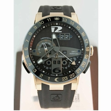Ulysse Nardin GMT Perpetual 322-00-3 Automatic Watch