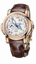 Ulysse Nardin GMT Perpetual 322-66/91 Mens Watch