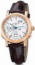 Ulysse Nardin GMT Perpetual 322-88/91 Mens Watch