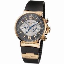 Ulysse Nardin Marine Chronograph 353-66-3/319 Mens Watch
