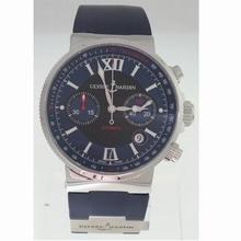 Ulysse Nardin Marine Chronograph 353-66-3/323 Mens Watch