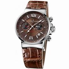Ulysse Nardin Marine Chronograph 353-66/355 Mens Watch