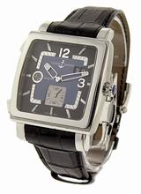 Ulysse Nardin Quadrato Dual Time 243-92/632 Mens Watch