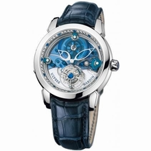 Ulysse Nardin Royal Blue Mystery 799-80 Mens Watch