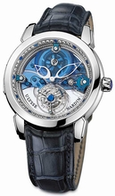 Ulysse Nardin Royal Blue Tourbillon 799-80 Mens Watch