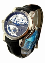 Ulysse Nardin Sonata Cathedral Dual Time 660-88/213 Mens Watch