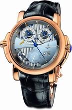Ulysse Nardin Sonata Silicium 670-85 Mens Watch