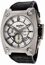 Wyler Geneve Code R 100.1.00.WB1.CBA Mens Watch