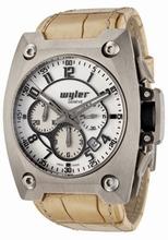 Wyler Geneve Code R 100.1.00.WB1.CRU Mens Watch