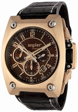 Wyler Geneve Code R 100.2.00.BR2.CBR Mens Watch