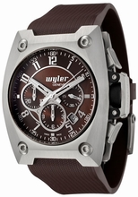 Wyler Geneve Code R 100.4.00.CH1.RBR Mens Watch