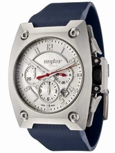 Wyler Geneve Code R 100.4.00.SS1.RBL Mens Watch