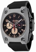 Wyler Geneve Code R 100.7.00.BRN.RBA Mens Watch